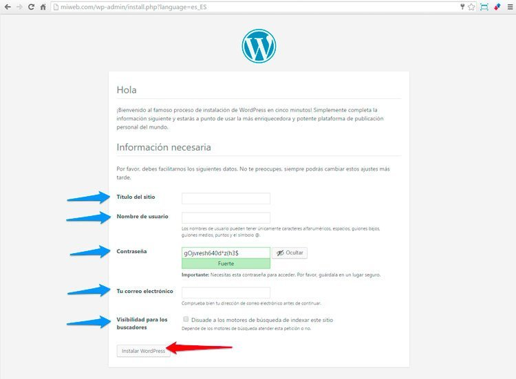 datos-de-la-web-wordpress