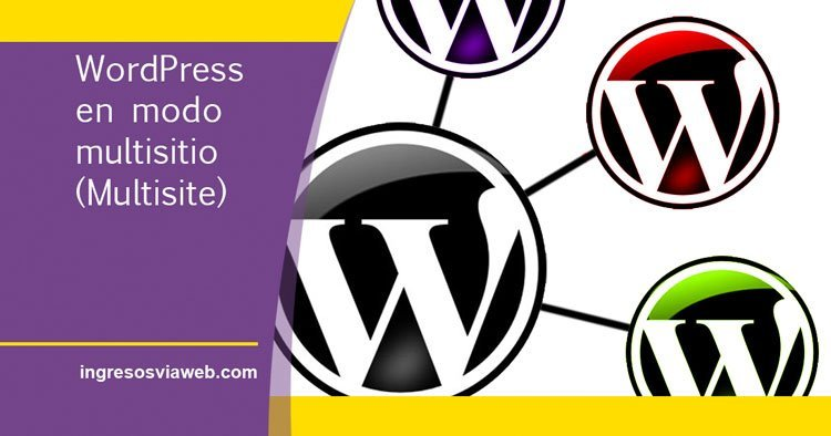 instalar wordpress en modo multisitio