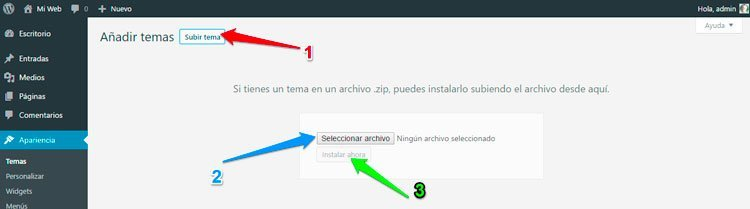 subir-tema-de-wordpress