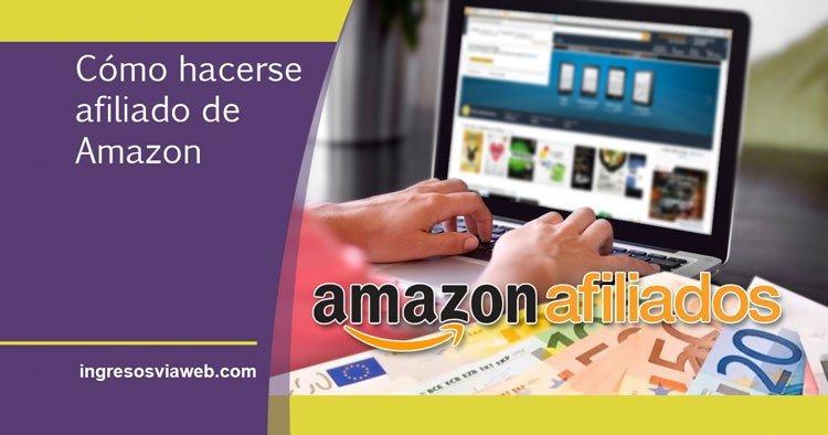 alta en el programa de afiliados de Amazon