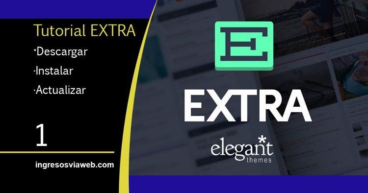 Descargar, instalar y actualizar el tema Extra de Elegant Themes