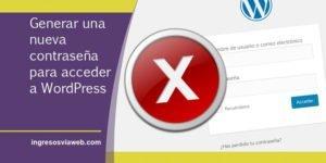 Acceder a WordPress con una nueva clave