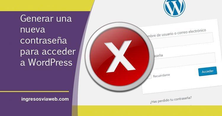 No puedo acceder a WordPress, ¿qué hago?