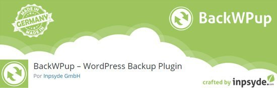 Limpiar la base de datos de WordPress. Plugin Backwpup