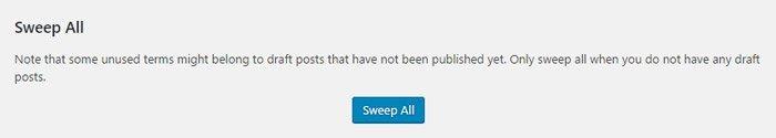 Limpiar la base de datos de WordPress. Limpiar todo