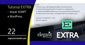 añadir script en wordpress