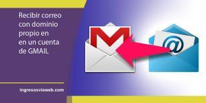 Usar Gmail para recibir correo externo