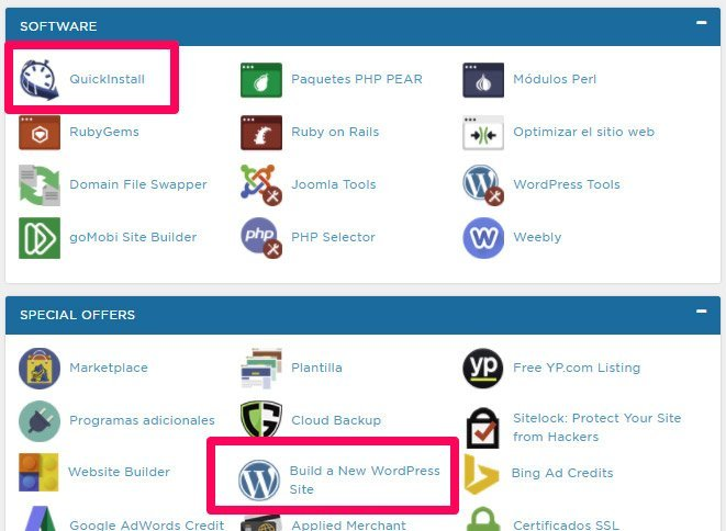 Blog con el tema EXTRA theme. Wordpress en Hostgator