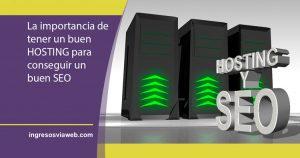 hosting y SEO