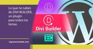 Cambiar el tema Divi con divi builder