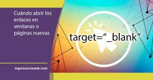 Ventana nueva con target=