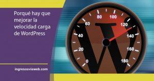 Aumentar la velocidad de carga de WordPress