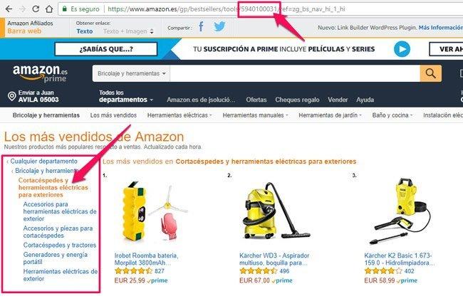 node-de-categorias-de-Amazon