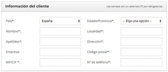 web de productos de afiliación con SiteGround. Datos