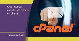 Nuevas cuentas de correo en cPanel