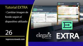 Utilizar diferentes fondos en Extra según el dispositivo