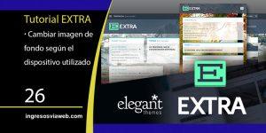 Configurar fondos diferentes en Extra según el dispositivo