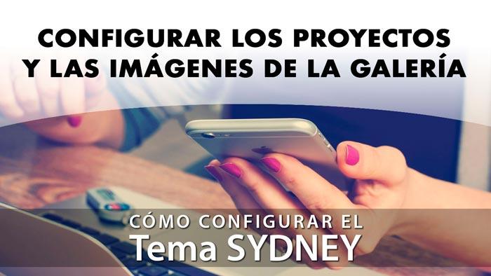 Configurar proyectos e imágenes en Sydney
