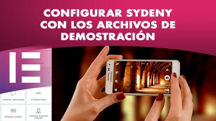 Configurar Sydney con archivos de demostración