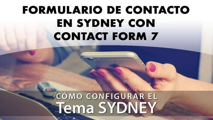 Crear página de contacto con Contact Form 7 en Sydney