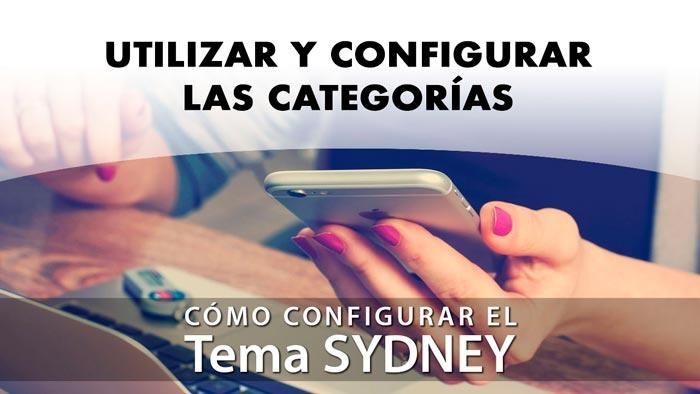 Utilizar y configurar las categorías