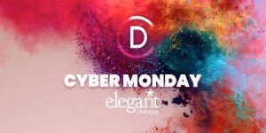 cyber monday para divi de elegant themes