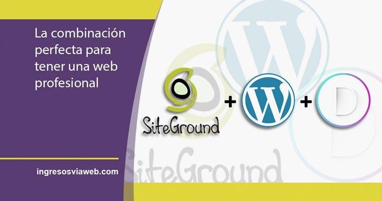 Página web profesional con WordPress