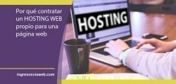 Por qué contratar un servicio de hosting web