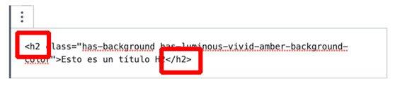 Modificar etiquetas HTML