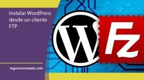 WordPress desde FTP