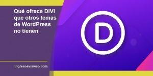 COMPRAR DIVI, el mejor tema de WordPress