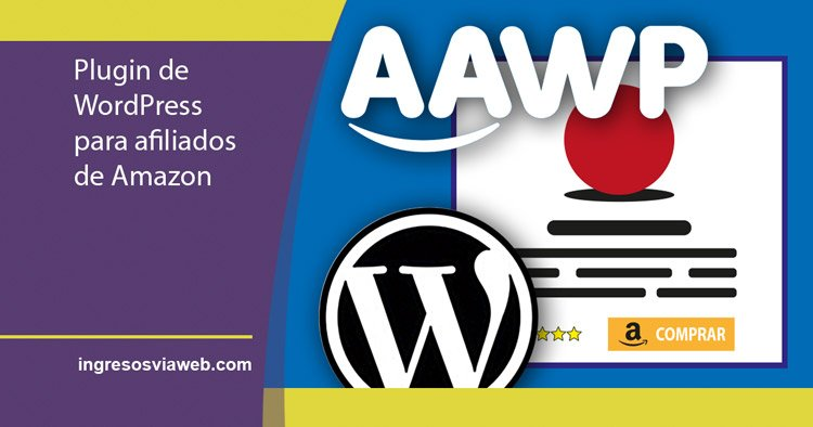AAWP plugin para afiliados de Amazon