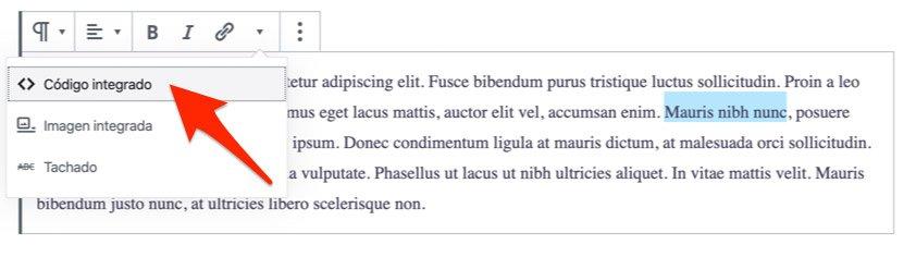 Fuentes diferentes en el mismo párrafo con etiqueta code