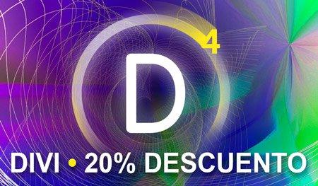 Descuento 20% al comprar DIVI