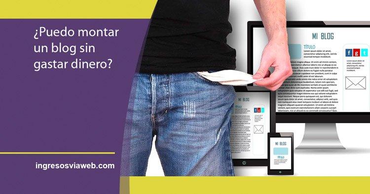 montar un blog sin dinero