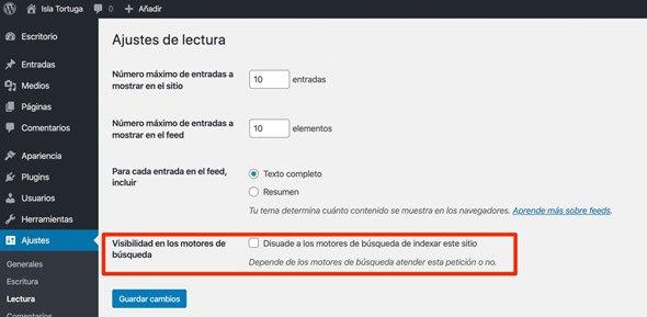 Visibilidad en los motores de búsqueda
