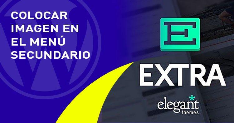 imagen en el menu secundario en el tema EXTRA