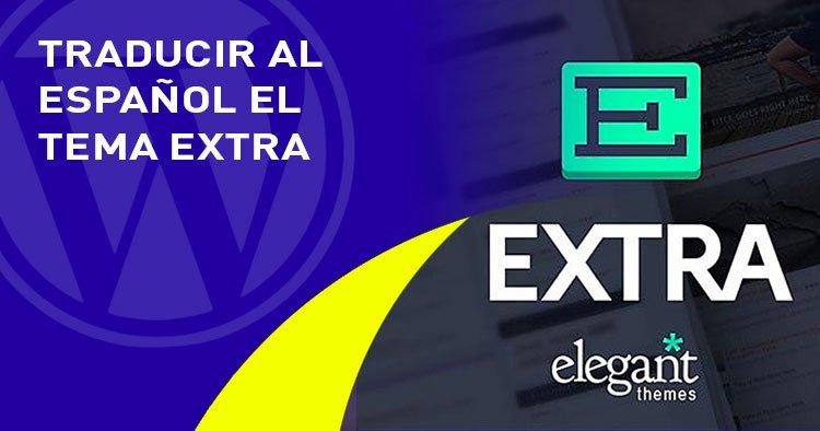 traducir al castellano en el tema EXTRA