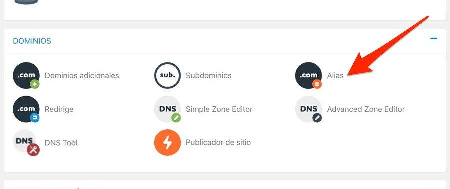 Redirigir dominio externo desde cPanel del hosting