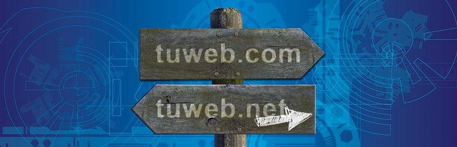 Redirigir un dominio a una web concreta con otro dominio