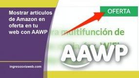 Mostrar ofertas con AAWP