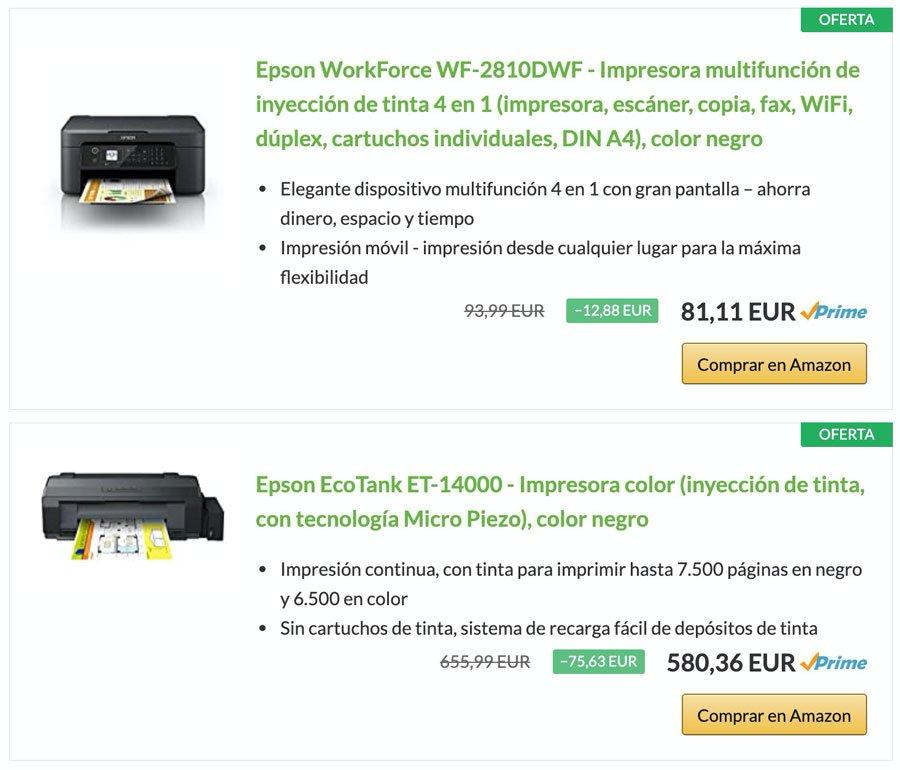 Productos en oferta con el plugin AAWP a través de referencia ASIN