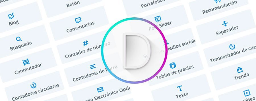 Logo DIVI y modulos en ingresosviaweb