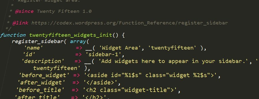 Código de WordPress