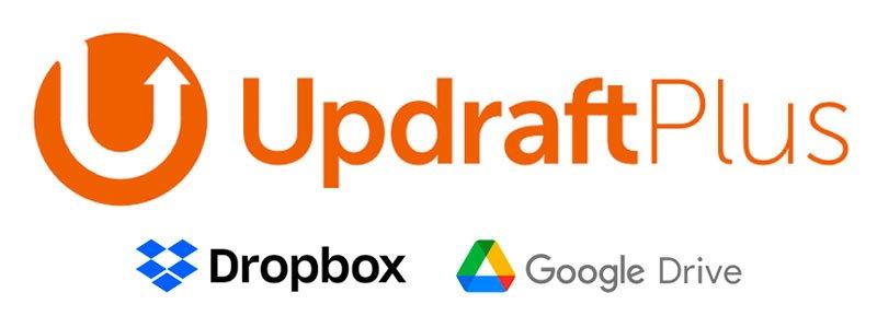 UpdraftPlus con Google Drive y Dropbox